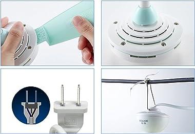Ventilateur de Plafond, Micro-Ventilateur D'éTude de la Chambre à Coucher à la Maison, Petit Ventilateur éLectrique Silen