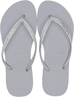 5018fef7657 Havaianas. Slim Glitter Sandal.  34.00. New. Steel Grey
