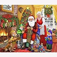 大人のジグソーパズル2000個大人のジグソーパズル2000個子供大ジグソーパズルおもちゃギフト(クリスマスカップル)