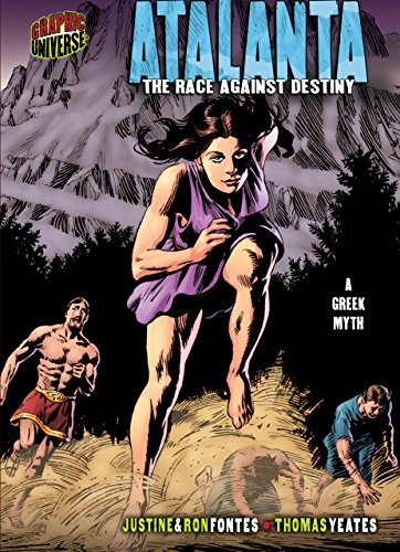 Atalanta: The Race against Destiny [A Greek Myth] (Graphic Myths and Legends) (English Edition)