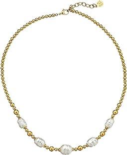 Majorica - Allison Baroque Bead Necklace