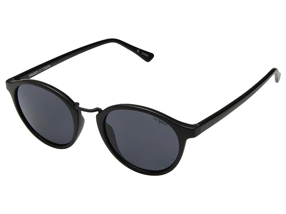 Le Specs Paradox (Matte Black/Smoke Mono) Fashion Sunglasses