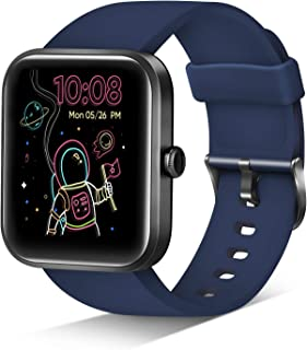 Smart Watch, Reloj Inteligente Monitor de Actividad, 1.69 Inch Touch Men/Women, Alexa, Monitor de frecuencia Cardiac Blood...