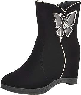 RAZAMAZA Women Classic Wedge Heels Slouch Boots Pull on