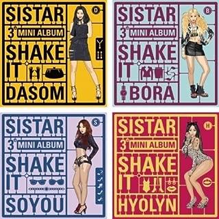 SISTAR - [ SHAKE IT ] 3rd Mini Album CD + Photocard (Random Album cover) K-POP Sealed