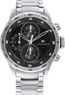 Tommy Hilfiger Men's Analogue Quartz Watch with Stainless Steel Strap 1791805