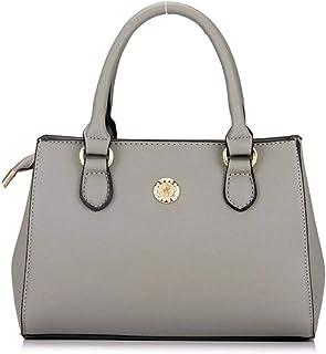 Shoulder Bag Women/Fashion Handbag/All-Match/Fashion, Women's Bags, Cross Stripes, Leisure, Handbags, Large Capacity, Small Square Bags, Carrying Bags Handbag Clutch (Color : Grey)