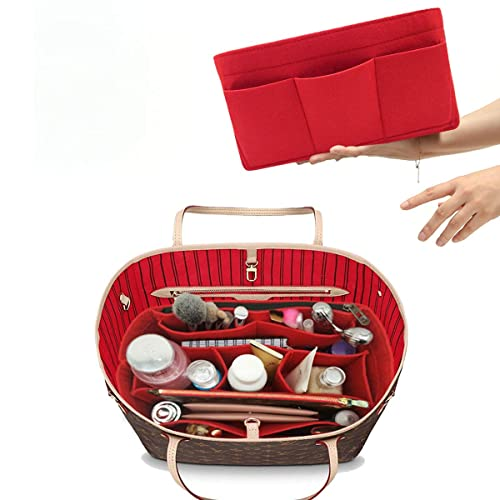 5e9a706a29d Felt Insert Bag Organizer Bag In Bag For Handbag Purse Organizer Fits Speedy  Neverfull