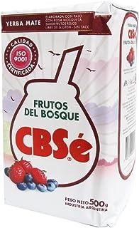 comprar comparacion Yerba mate CbSe Frutos del Bosque 500g