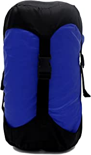 GoBackTrail Compression Stuff Sack – 24 & 14 Liter Water Resistant Polyester – Shrinks Bulky Items – Great for Sleeping Bags Clothes Camping Hiking Backpacking