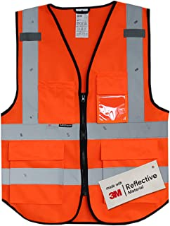 Salzmann 3M Multi Pocket Safety Vest Meets ANSI/ISEA107