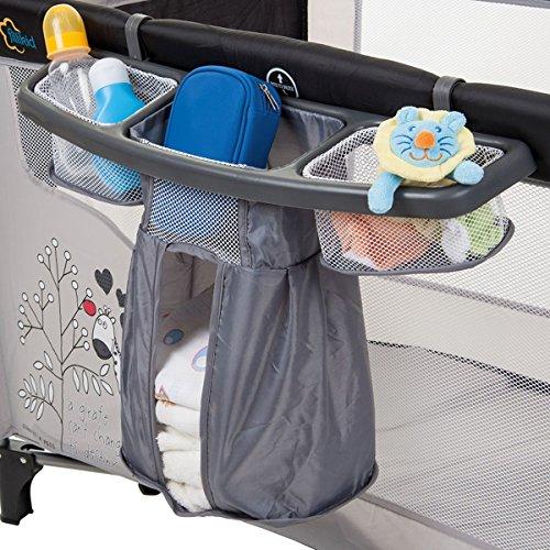 ORGANIZER / Staufächer für REISEBETT Kinderbett Kind Baby Bett