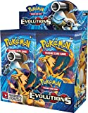 Pokemon XY12 'Evolutions' Booster Scatola: 36 pacchetti = 360 Carte Supplementari per Pokemon TCG (inglese)