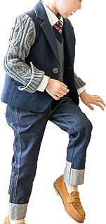 Heaven Days(ヘブンデイズ) 子供服 キッズ フォーマル スーツ 5点セット 制服 卒業式 七五三 入園式 女の子 男の子 1802F0001