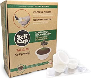 200 Capsule Biodegradabili e Compostabili  Fai da te SelfCap Nespresso