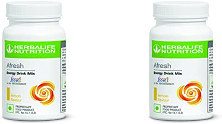 Herbalife Energy Drink Mix Lemon Flavour - Pack Of 2