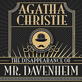 The Disappearance of Mr. Davenheim audiobook cover art
