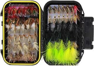 Croch Fliegen Form Angeln handgebunden Fliegen Forellen K/öder Angel Imitate Kunstk/öder Saibling mit wasserdichte Box