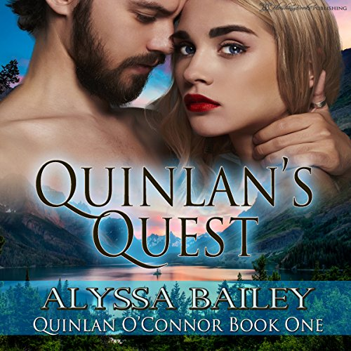 Quinlan's Quest audiobook cover art
