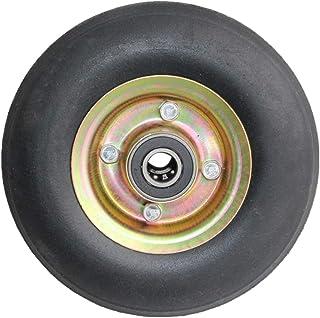 YJJT Kruiwagen vervangende wiel, Heavy Duty wielen, Lager binnendiameter 25mm, Wielbreedte 43mm, Gebruikt voor trolleys, V...