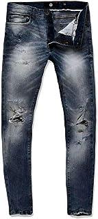Jordan Craig Midnight Blue Jeans with Shreds
