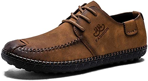 EGS-chaussures Cuir Microfibre for Jeunes Hommes Hommes Hommes Chaussures de Sport for Hommes Chaussures de Ville Chaussures de Cricket (Couleur   Kaki, Taille   43) 88a