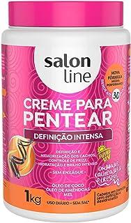 Salon Line Creme para Pentear, Definição Intensa, Branco, 1 kg