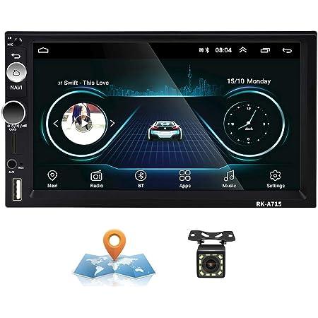 Android Autoradio 2 Din GPS CAMECHO Touchscreen capacitivo da 7