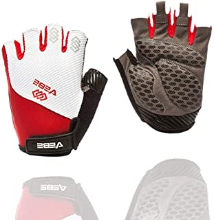 VEBE Men's Cycling Gloves Mountain Bike Gloves - Breathable Shock Absorbing Bicycle Gloves with Gel Pad.