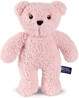 Vermont Teddy Bear Cuddly Toy - Stuffed Animals for Girls and Boys, 14 Inch, Pink, Take Along Teddy