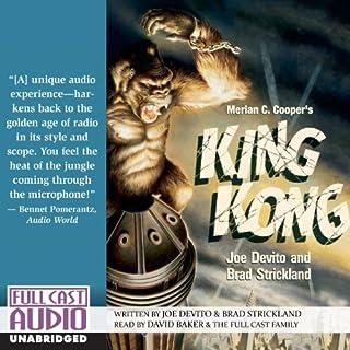 Merian C. Cooper's King Kong audiobook cover art