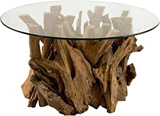 Best driftwood coffee table glass Reviews