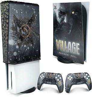 Capa Anti Poeira e Skin PS5 - Resident Evil Village