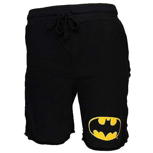 f5e3fb4083975 Batman Logo Adult Men's Jam Cotton Shorts