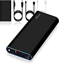 BatPower ProE 2 ES10B Portable Charger for Surface Book 2 Laptop External Battery Surface Pro 7/6 / 5/4 / 3/2 Go RT Power Bank, USB QC 3.0 Fast Charging for Tablet or Smartphone -148Wh