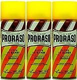 Proraso 3 er Pack Proraso Yellow Shaving Foam 400 ml Rasierschaum -
