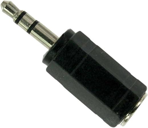 Inline Audio Adapter 2 5mm Klinke Buchse An 3 5mm Computer Zubehör