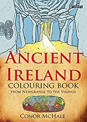 Children books about Ireland, Ancient Ireland Colouring Book cover