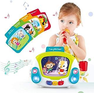 VATOS Musical Toys for Toddlers, Karaoke Singing Box...