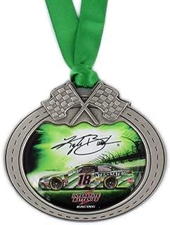 Sparta Kyle Busch Car Pewter Metal NASCAR Christmas Ornament
