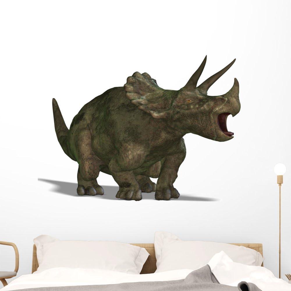 Wallmonkeys Dinosaur Triceratops Wall Decal Peel latest Anima Stick latest and