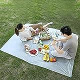 Picknickdecke Stranddecke Strandmatte Wasserdicht, Kleines Packmaß - Ideal für Ground Sheet,...