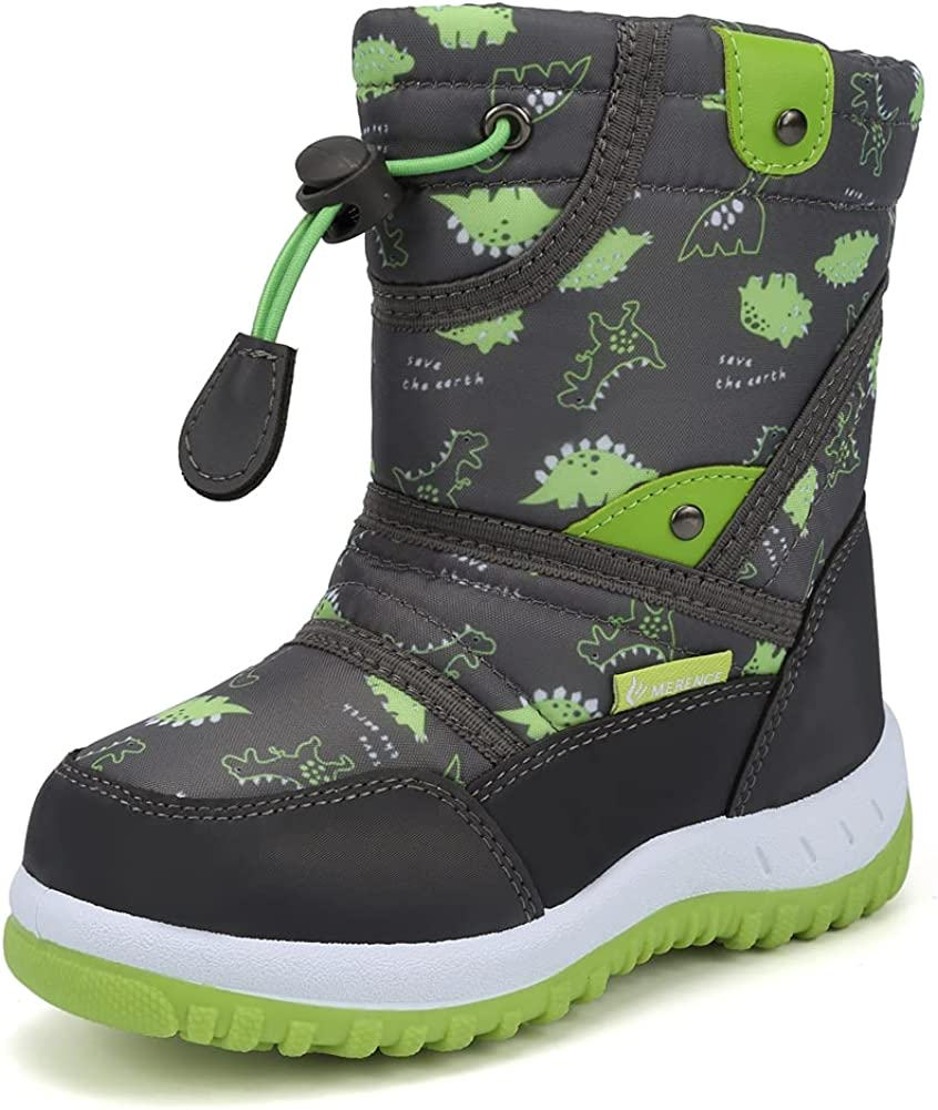 CIOR Winter Snow 5 ☆ popular Boots for Boy with Outdoor Waterproof Philadelphia Mall and Girl