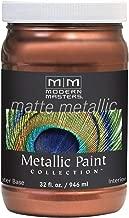 Modern Masters MM579 Matte Metallic Paint, Copper Penny, Quart