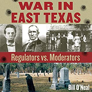 War in East Texas audiobook cover art