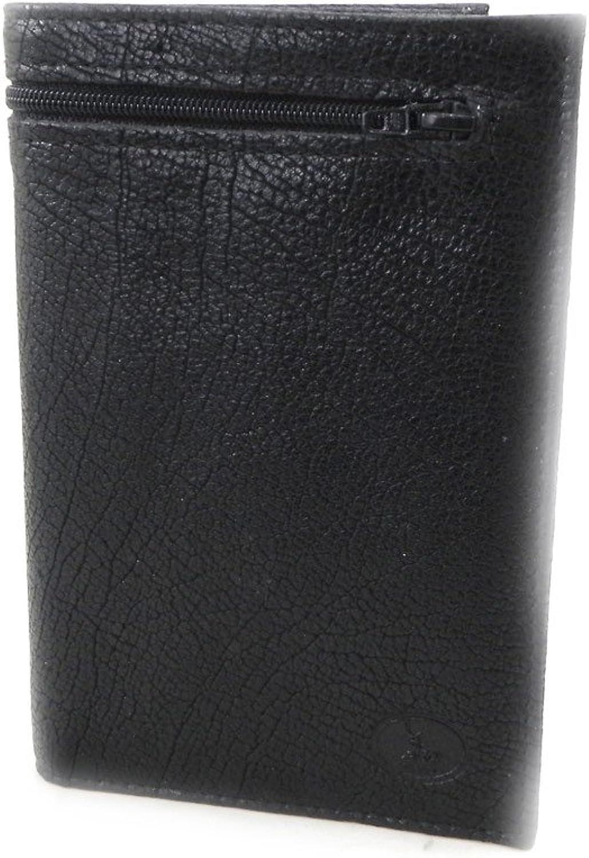 Leather wallet 'Frandi' destroy black cosmos.