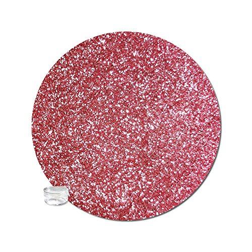Glitter My World! Ultra Fine Glitter Metallic: Copper Rose Bitty Jar