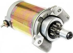 Caltric Starter Compatible With John Deere Mower GX75 RX75 SRX75 SX75 Kawasaki 9HP 1987-1996