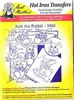 Jack the Rabbit Aunt Martha's Hot Iron 刺繍転写