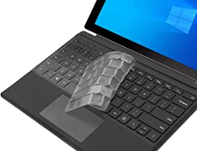 Keyboard Cover for Microsoft Surface Pro 7 2019 / Surface Pro 6 2018 / Surface Pro 5 2017 / Surface Pro 4, Premium Ultra Thin Transparent Surface Pro Keyboard Skin, Surface Pro Accessories, US Layout